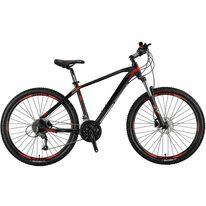 "MOSSO Black Edition H 27.5"" size 18"" (45.5cm) (juoda/raudona)"
