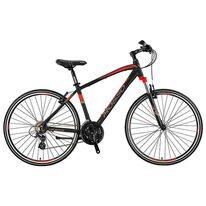 "MOSSO Legarda 2021 MSM V-brake 28"" size 18"" (46cm) (black/red)"