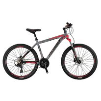 "MOSSO Wildfire 2D H 26"" size 18"" (46cm) (grey/red)"