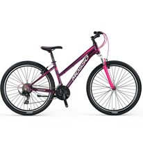 "MOSSO Wildfire Lady V-brake 27,5"" size 16"" (41cm) (violet/pink/white)"