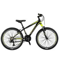 "MOSSO Wildfire V-brake 24"" size 13"" (33cm) (black/lime)"