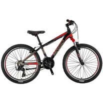 "MOSSO Wildfire V-brake 24"" size 13"" (33cm) (black/red)"
