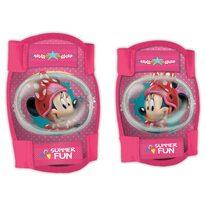 Vaikiškos apsaugos keliams ir alkūnėms Mickey Mouse Minnie
