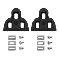 Pedal cleats VELO road, 0 degree floating (black)