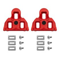 Pedal cleats VELO road, 4,5 degree floating (red)