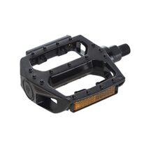 "Pedals BMX 9/16"" 108x100mm (aluminium, black)"