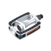 Pedals FORCE Trek Anti-slip (aluminium, silver)
