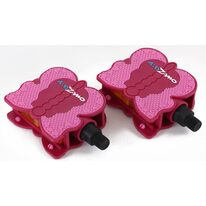 """Pedalai vaikiški Kidzamo Butterfly 1/2"""" (rožiniai)"""
