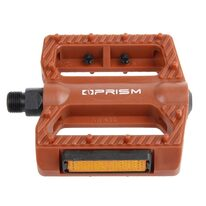 Pedals PRISM NW-430 95x95mm (brown)