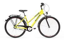 """PEGASUS Avant 28"""" N3 dydis 17,5"""" (45cm) (geltona/juoda)"""