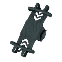 "Phone holder FORCE 4""-6"" silicone (black)"