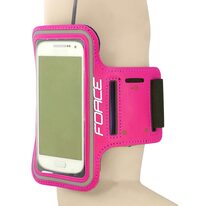 Phone holder FORCE on the arm (pink)