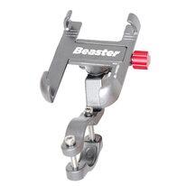 Phone holder on handlebar Beaster BS03S (silver)