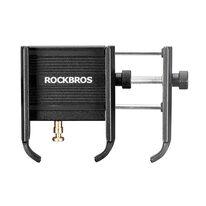 Phone holder on handlebar RockBros YQ001BK (black)