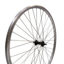 """Priekinis ratas 28""""  Dynamic stebulė, dvigubas ratlankis, juoda stebulė, V-brake 36H"""