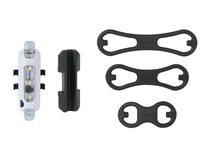 Priekinis žibintas Ilumenox Splash 5 LED, pakraunamas per USB