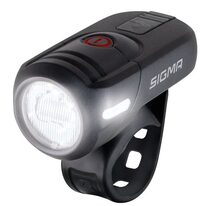 Priekinis žibintas Sigma AURA 45 USB LUX 3 funkcijos (juodas)