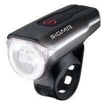 Priekinis žibintas Sigma AURA 60 USB LUX 3 funkcijos (juodas)