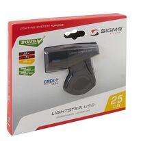 Priekinis žibintas SIGMA Lighster USB 25lux