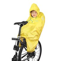 Rain coat FORCE for kids childseat (yellow)