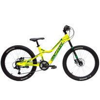 """Raptor 24"""" dydis 13,5"""" (34cm) 2021 (aliuminis, geltona/žalia/juoda)"""