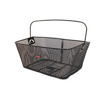 Rear carrier basket KTM 38x29x17cm (steel, black)