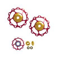 Жокей колеса задний переключатель FORCE с керамическими подшипниками 11T (красный)