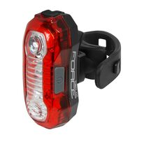 Rear light FORCE Deux 5 LED, USB