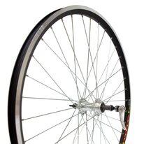 "Rear wheel 26"" 36H Force hub, double Breeze rim, V-brake, quickrelease"
