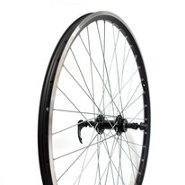 "Rear wheel 26"" double Breeze rim, black U-Link hub,  36H V-Brake"