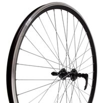 "Rear wheel 27.5"" 36H U-Link hub, Dynamic rim, V-Brake, quickrelease"