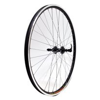 "Rear wheel 27,5"" SC J19SZ, alloy hub, 36H V-type (aluminum, black)"
