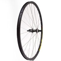 Rear wheel 28/29'' STARSCircle J19SE 32H TX505 hub with quickrelease (black/yellow)