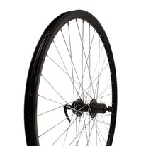 "Rear wheel 28"" 36H Force hub, double Runner rim, disk, quickrelease"