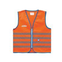 Šviesą atspindinti vaikiška liemenė KTM (oranžinė) L