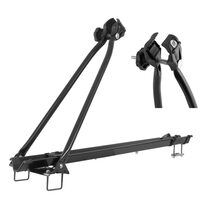 Roof bike carrier FORCE TUV (steel, black)