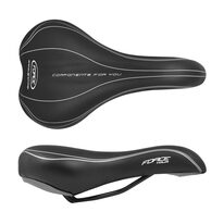 Saddle FORCE Tour 275x160mm (black)