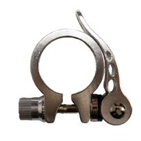 Saddle lock 34,9 mm (silver)