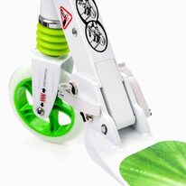 Scooter METEOR Racer (white/green)