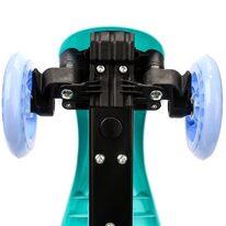 Paspirtukas METEOR Shift su 3 ratais (mėlyna/mėtinė)