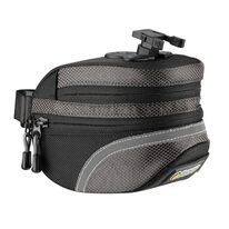 Seat bag Ogns Angle 1.6l G5023 with Klick system (black/grey)