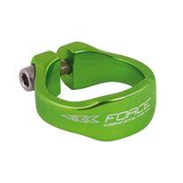 Seatclamp FORCE 31,8mm (aluminium, green)