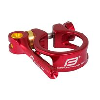 Seatclamp FORCE with QR 31,8mm (aluminium, red)