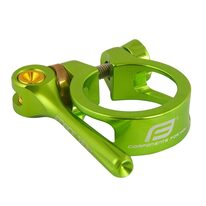 Seatclamp FORCE with QR 34,9mm (aluminium, green)