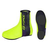 Велоспорт бахилы FORCE Neoprene Basic (черный/флуоресцентный) 40-42 M