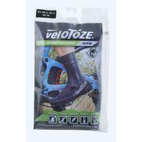 Antbačiai FORCE Velotoze latex (juoda) 43-46 L