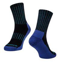 Kojinės FORCE ARCTIC, (juoda/mėlyna) L-XL 42-47