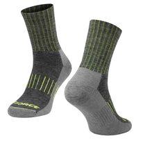 Kojinės FORCE ARCTIC, (juoda/fluorescencinė) S-M 36-41