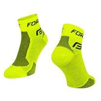 Kojinės trumpos FORCE (fluorescencinė/juoda)