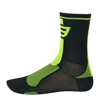 Kojinės FORCE Long (juoda/fluorescentinė) 36-41 S-M